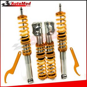 2-Pairs-Coilover-Suspension-para-VW-Golf-2-Golf-3-Jetta-2-MK2-MK3-Vento-Corrado