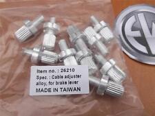 10 pcs Bike Brake Cable Adjuster Screws 7mm TEN
