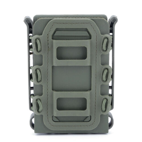 Pistol Rifle Mag Carrier Magazine Pouch Tactical Soft Shell Scorpion 5.56//7.62mm