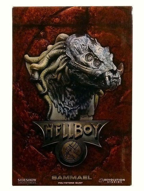 Busto Hellboy  pronto  LE-1500  Dark Horse Sideshow  MIB