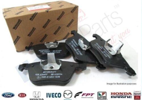 ¡ Nuevo Original Ford Focus st225 Delantera Pastillas De Freno de suministro directo de Ford Uk!