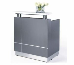 Image Is Loading Hair Amp Beauty Salon Reception Desk With Top