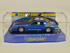 Slot-Car-Scalextric-Superslot-H4145-Chevrolet-Camaro-IROC-Z-No-22