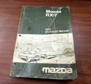 [DIAGRAM_3NM]  1983 Mazda RX-7 Service Repair Workshop Manual | eBay | 1983 Mazda Rx7 Wiring Diagram |  | eBay