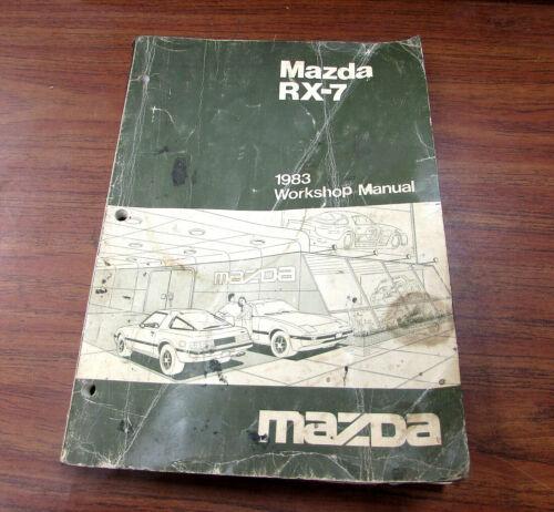 1983 Mazda RX-7 Service Repair Workshop Manual