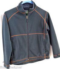 LL L.L. Bean FLEECE SKI LINING JACKET Coat Kids SZ M 10 12 coat jacket zip Gray
