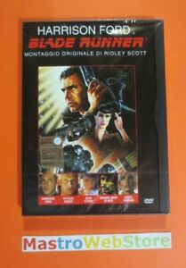 BLADE-RUNNER-H-Ford-1982-WARNER-Z8-DVD-SNAPPER-nuovo-sigillato-dv68