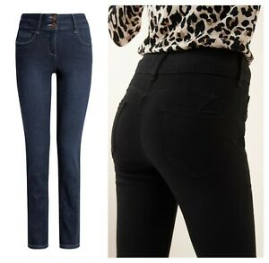 EX-marque-Lift-mince-et-Forme-Skinny-Taille-Haute-Jeans