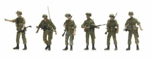 6 figuras-terminado modelo-nuevo Artitec 387.301-1//87//h0 IDF Infantry Patrol