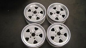 PORSCHE-FUCHS-Wheels-911-Original-Wheels-16-034-x-6-034-amp-16-034-x-7-034-SET-OF-FOUR-GERMAN