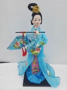 Oriental Broider Doll,Old figurine china Dynasty princess dolls statue