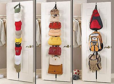 Bedroom Bathroom Door Hook Hanger Strip hook Hanging Clothes Hat Bag Coat Shirt