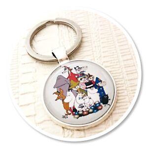 Moomins  keyring key ring Moomin & friends