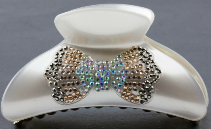 Latest Collection Of Large Hair Claw Clip Clamp Grips Sparkly Rhinestone Crystal Butterfly Hair Pin