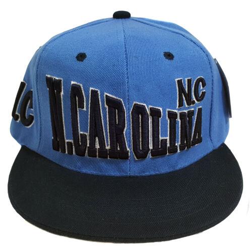 North Carolina Stoke Style Two Tone Sky Blue//Navy Snapback