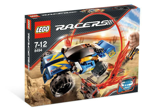 Lego Racers Power Ring of Fire 8494, 268 Pcs New Sealed