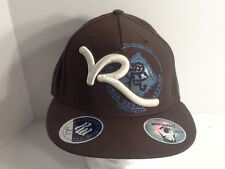 NEW Authentic Brown Urban ROCAWEAR Fitted Ball Cap Hat Jay-Z Approved, 7-5/8