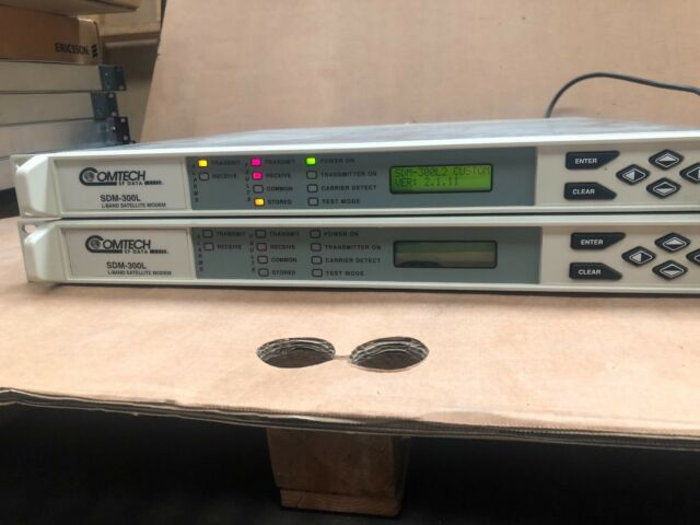 Comtech//EF Data CDM-600 70//140MHZ IF-Band Satellite Modem CDM600 RRP US$1,900