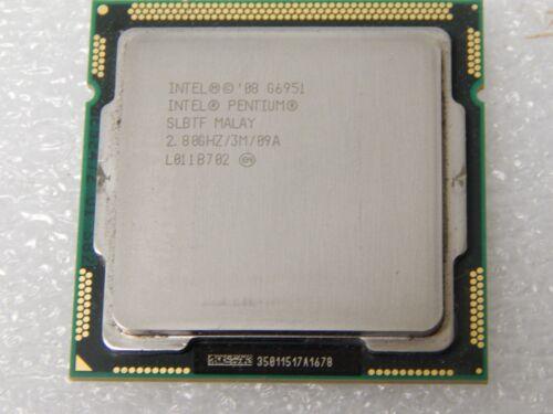 SLBTF Intel Pentium G6951 2.8GHz 3MB 2.8GT//s LGA1156 CPU Processor