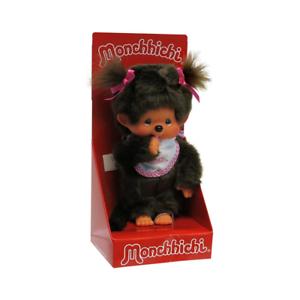 Monchhichi-20-cm-Classic-Girl-Rose