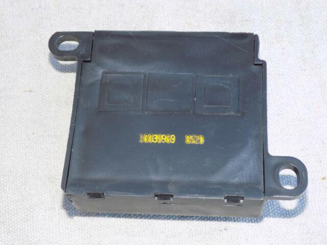VATS Anti-Theft Deterrent Module OEM 1985 C4 Corvette