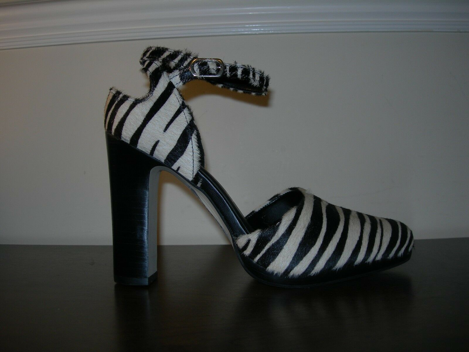 NEXT SIGNATURE damen COURT schuhe HEELS ANIMAL PONY PRINT PONY ANIMAL HAIR EU 38   UK 5 449154