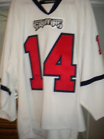 AHL 2009-10 GRAND RAPIDS GRIFFINS MIKE WALSH  SIGNED GAME WORN HOCKEY JERSEY