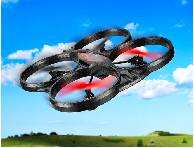 SkyKing Quadcopter Drone with Video Camera - DR775R