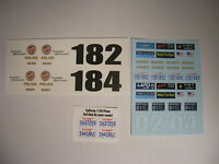 Lapd 1:24 Water Slide Decals Fits Ford Crown Vic And Other Sedans
