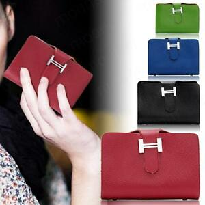 Womens-Ladies-Leather-Credit-Card-Holder-Case-Coin-Wallet-Purse-Clutch-Bag-Pouch