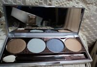 Sue Devitt Illuminating Eye Shadow Quad W/applicator Icelandic Fjord -