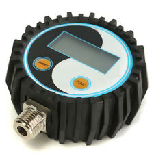 0~200psi Genau Digitaler Manometer LCD Bildschirm Gas Pressure Test G1/4 NPT1/8