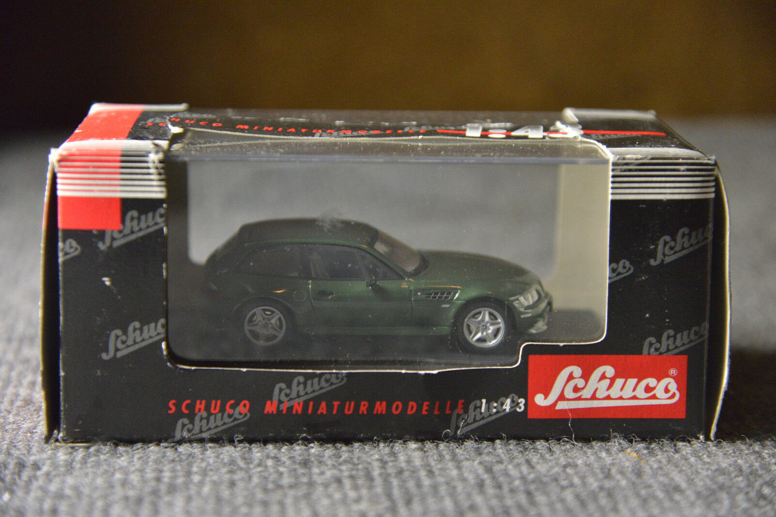 1 43 Schuco BMW Z3 M3 M Coupe Green Model Collector Toy