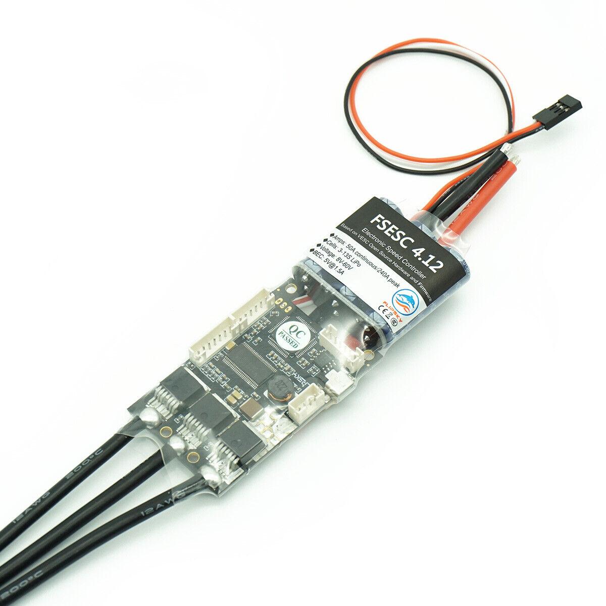 Standrad  Flipsky FSESC 4.12  VESC4 Controller for electric longboard standrad  considerate service
