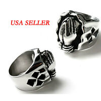 Arrival 316l Stainless Steel Praying Hand Ring Mens Jewelry Pinky Ring