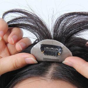 Details about 130%Topper Brazilian Human Hair Piece for Bald Spots Women  Top Pieces Wig Toupee 008062ccf