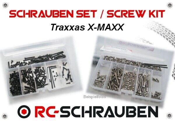 goditi il 50% di sconto Set di Viti Calienteel Traxxas X-Maxx in Acciaio Acciaio Acciaio o Acciaio Inox  scelte con prezzo basso