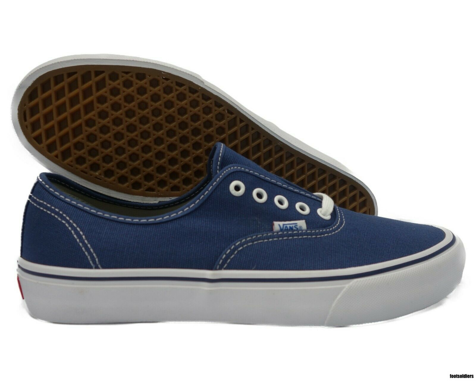 VN000Q0DJ6M Vans Authentic Pro  50th  '74 (Navy   White) Men Size 12