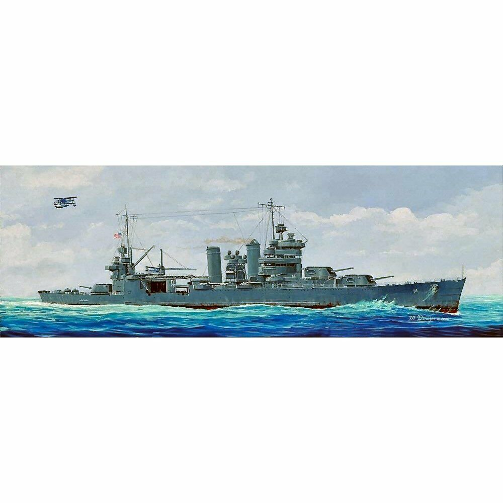 Trumpeter USS San Francisco CA-38 (1942) 1 350 scale plastic model kit 05309