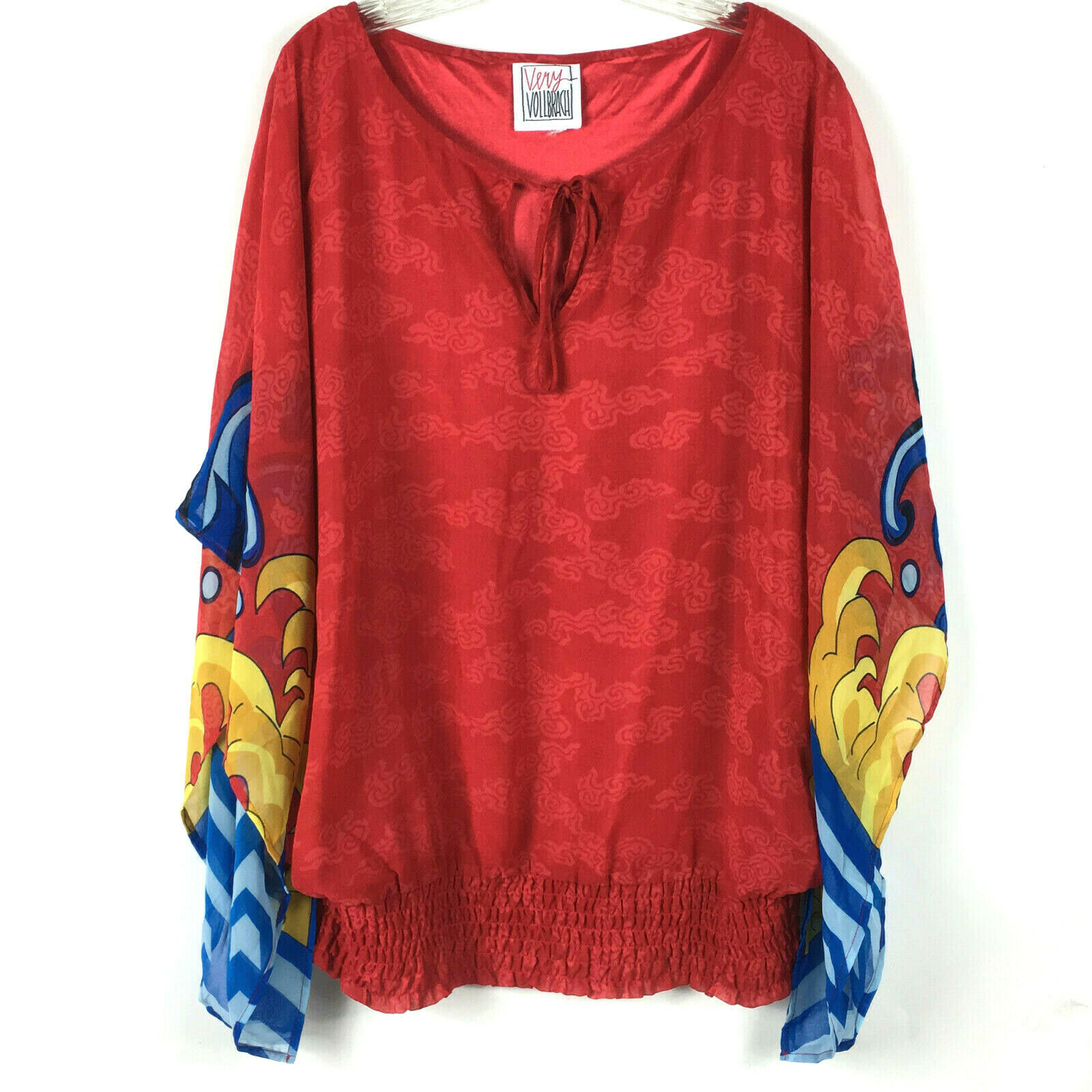 Very Vollbracht Art to Wear Oversized Blouse Wome… - image 2