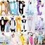 Emmarcon-pigiama-intero-animale-kigurumi-da-bambini-stella-arcobaleno-chiusura-i miniatura 1