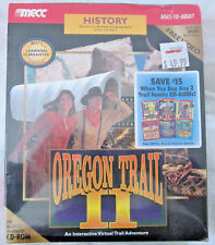 Factory Sealed 1995 Oregon Trail II, Video, For windows/Macintosh CD-Rom 10+