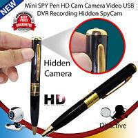 Mini Hd Dv Usb Dvr Cam Hidden Spy Pen Video Camera Recorder Spy Camcorder