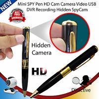 Mini Hd Dv Usb Dvr Cam Hidden Spy Pen Video Camera Recorder Spy Camcorder