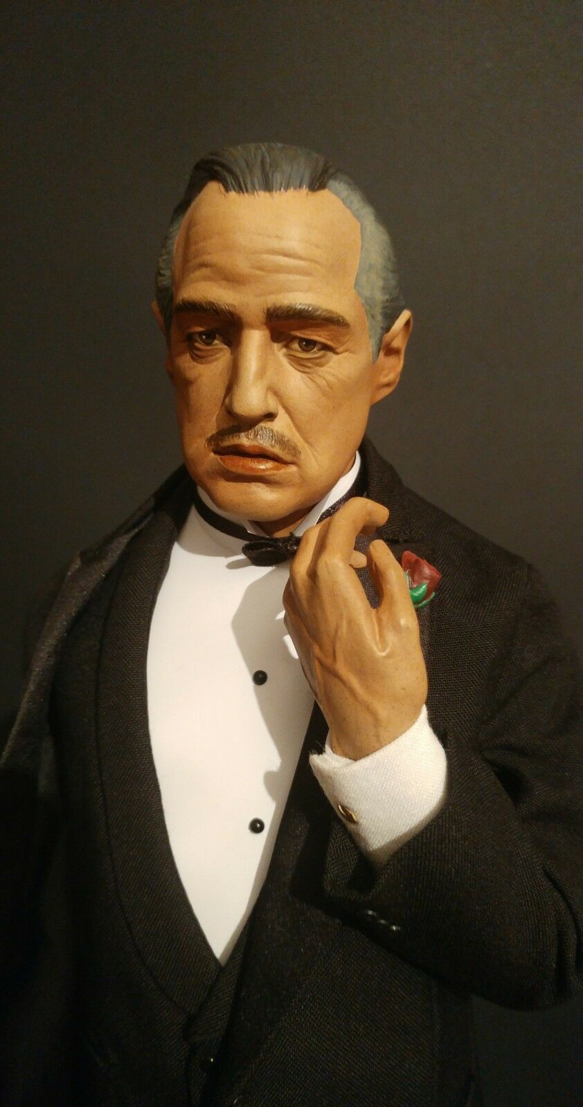 Sideshow Collectables Le Parrain Don Vito Corleone PREMIUM FORMAT FORMAT FORMAT 1/4 SCALE 46faa2