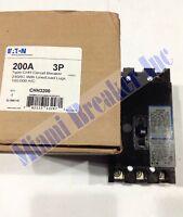 Chh3200 Eaton Circuit Breaker 3 Pole 200 Amp 240v (new In Box)