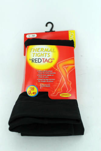 Onorevoli Redtag NERO TERMICO Leggings M-L XL 41b262 FOOTLESS S