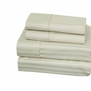 Image Is Loading Soft 650 Thread Count Cotton Polyester Blend Bed