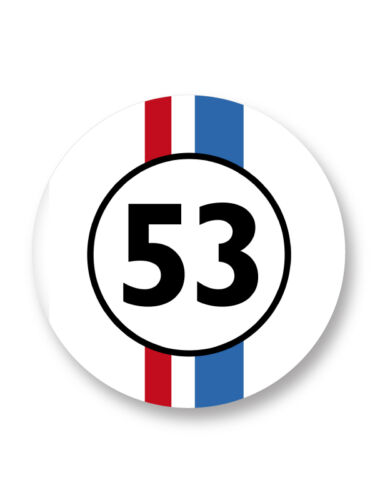 Magnet Aimant Frigo Ø38mm La Coccinelle 53 Herbie Choupette