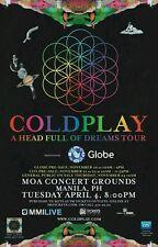 Coldplay Platinum Ticket